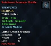 Reinforced Icemane Mantle