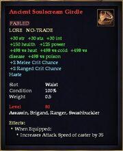 Ancient Soulscream Girdle