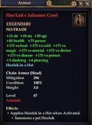 Hoo'Loh's Inhumer Cowl