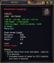 Doomseer Leggings