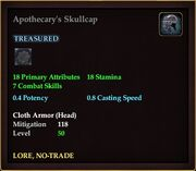 Apothecary's Skullcap