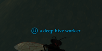 A deep hive worker