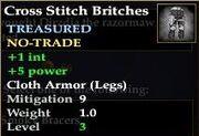 Cross Stitch Britches