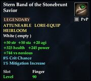 Stern Band of the Stonebrunt Savior