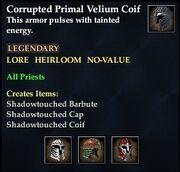 Corrupted Primal Velium Coif