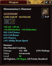 Monomaniac's Hammer