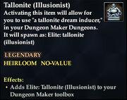 Tallonite (Illusionist)