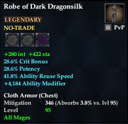 Robe of Dark Dragonsilk