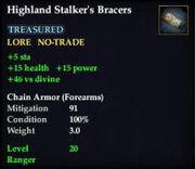 Highland Stalker's Bracers
