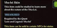 Yha-lei Skin