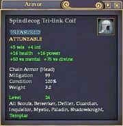 Spindlecog Tri-link Coif