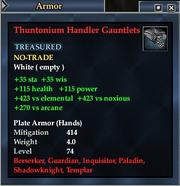 Thuntonium Handler Gauntlets
