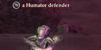 A Humator defender