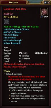 Combine Dark Bow