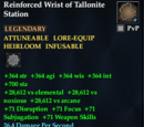 Reinforced Wrist of Tallonite Station