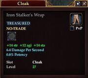 Iron Stalker's Wrap