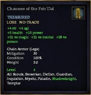 Chausses of the Feir'Dal
