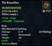 Tin Knuckles