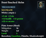 Frost-Touched Helm