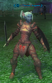 A Thexian dragoon (Lesser Faydark) (heroic)
