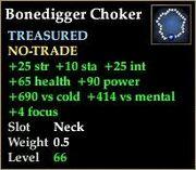 Bonedigger Choker