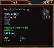 Iron Medium's Wrap