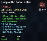 Hoop of the Zonn Healers