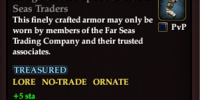 Indigo Shoulderpads of the Far Seas Traders