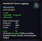 Manifested Terror Leggings