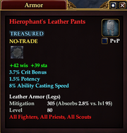 Hierophant's Leather Pants