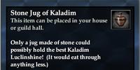 Stone Jug of Kaladim