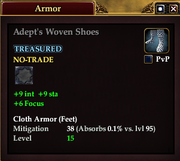 Adept's Woven Shoes
