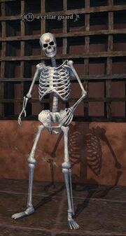 A cellar guard