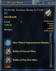 Perfectly Serious Items to Craft III