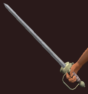 Fencer's Blade of Precision (Equipped)