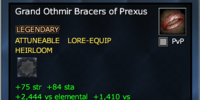 Grand Othmir Bracers of Prexus