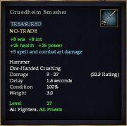 Gruedheim Smasher