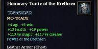 Honorary Tunic of the Brethren