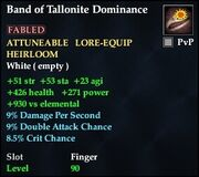 Band of Tallonite Dominance