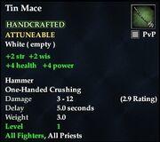 Tin Mace