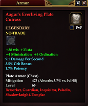 Augur's Everliving Plate Cuirass