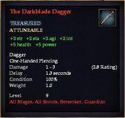 The Darkblade Dagger (Equipment)