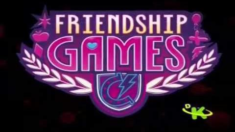 (Spoiler) Abertura de Equestria Girls 3 - Friendship Games - Dublagem do Brasil