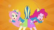 Fluttershy and Pinkie Pie splash screen 2 EG
