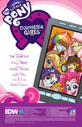 Equestria Girls Holiday Special credits page