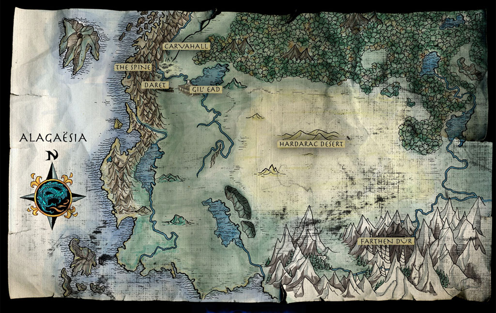 Eragon Landkarte