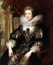 Peter Paul Rubens - Portrait of Anne of Austria - WGA20365