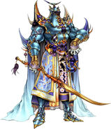 Artwork de Exdeath en Dissidia