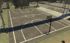Penitenciaría Alderney Cancha de basket