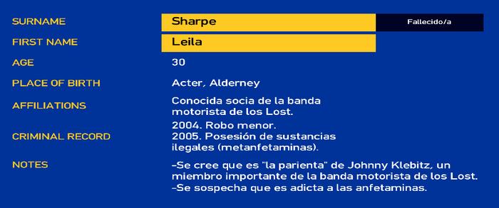 Leila Sharpe LCPD.PNG